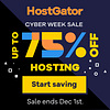 hostgator cyber sale 2020