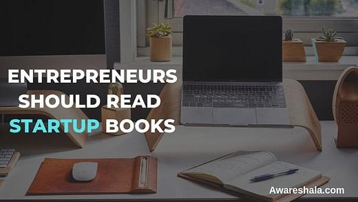 entrepreneurs should read startup books