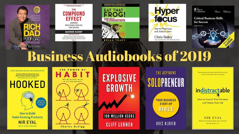 best business audiobooks of 2019